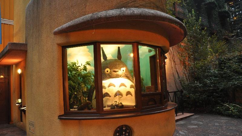 Totoro im Ghibli Museum